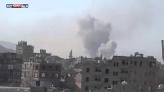 قصف مواقع للحوثيين في البيضاء