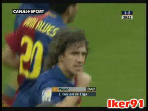 Real Madrid 1-2 FC Barcelona (Carles Puyol)