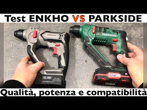 PARKSIDE VS ENKHO. Prova E Video Confronto Fra Il Trapano Sds Della Lidl E Quello Di Eurospin.