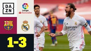 Ramos und Modric bringen Barca zu Fall! FC Barcelona - Real Madrid 1:3 | LaLiga | DAZN Highlights