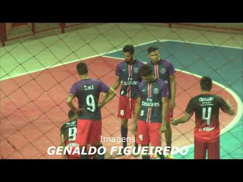 SPORT DESPORTIVO XINGU 4x3 PSG - 1* Rodada - Campeonato Altamirense de Futsal 2018.