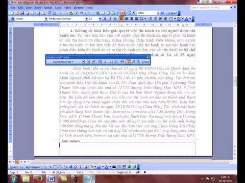 Cách Đánh Số Trang Word 2003 Từ Trang Bất Kì