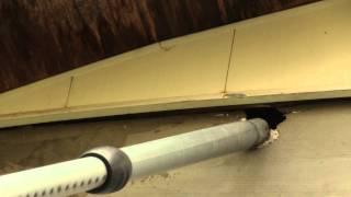 Осиное гнездо,как избавиться от ос.Hornet's nest, how to get rid of wasps
