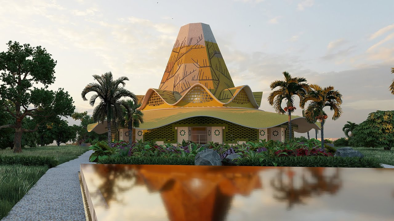 Design unveiled for first Baha'i Temple in the DRC | BWNS