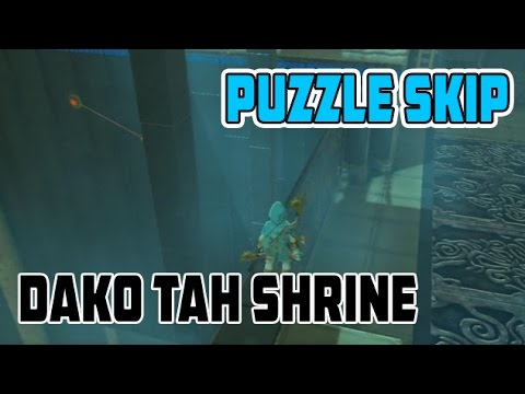 Zelda Breath of the Wild Electric Path Shrine Puzzle Skips (