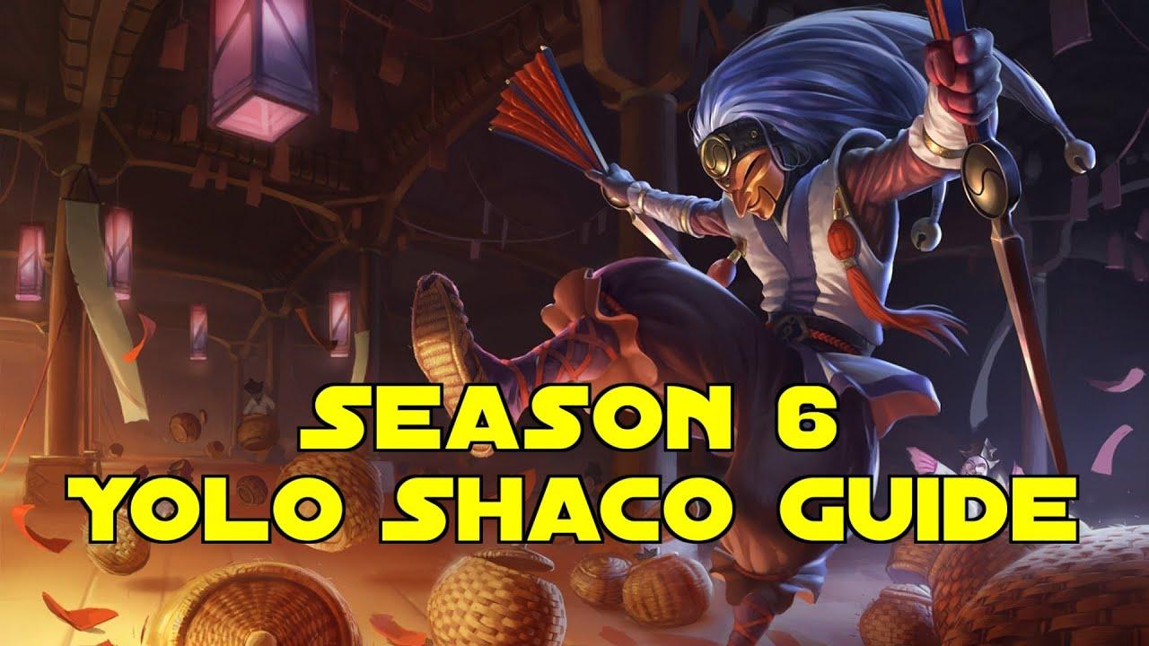 Shaco Build S7: YOLO- SHACO Jungle Guide Season 6 (German)