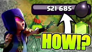 THIS IS REAL! OVER 500,000 DARK ELIXIR TO SPEND! - Clash Of Clans
