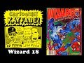 Wizard 18, February 1993, Kayfabe Commentary