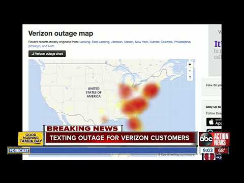 NewsRadio WKCY - News NOW  - Verizon confirms massive texting outage along the East Coast