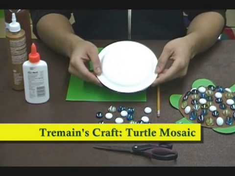 Crafty Creations 50: Egg Carton Turtles & Turtle Mosaic