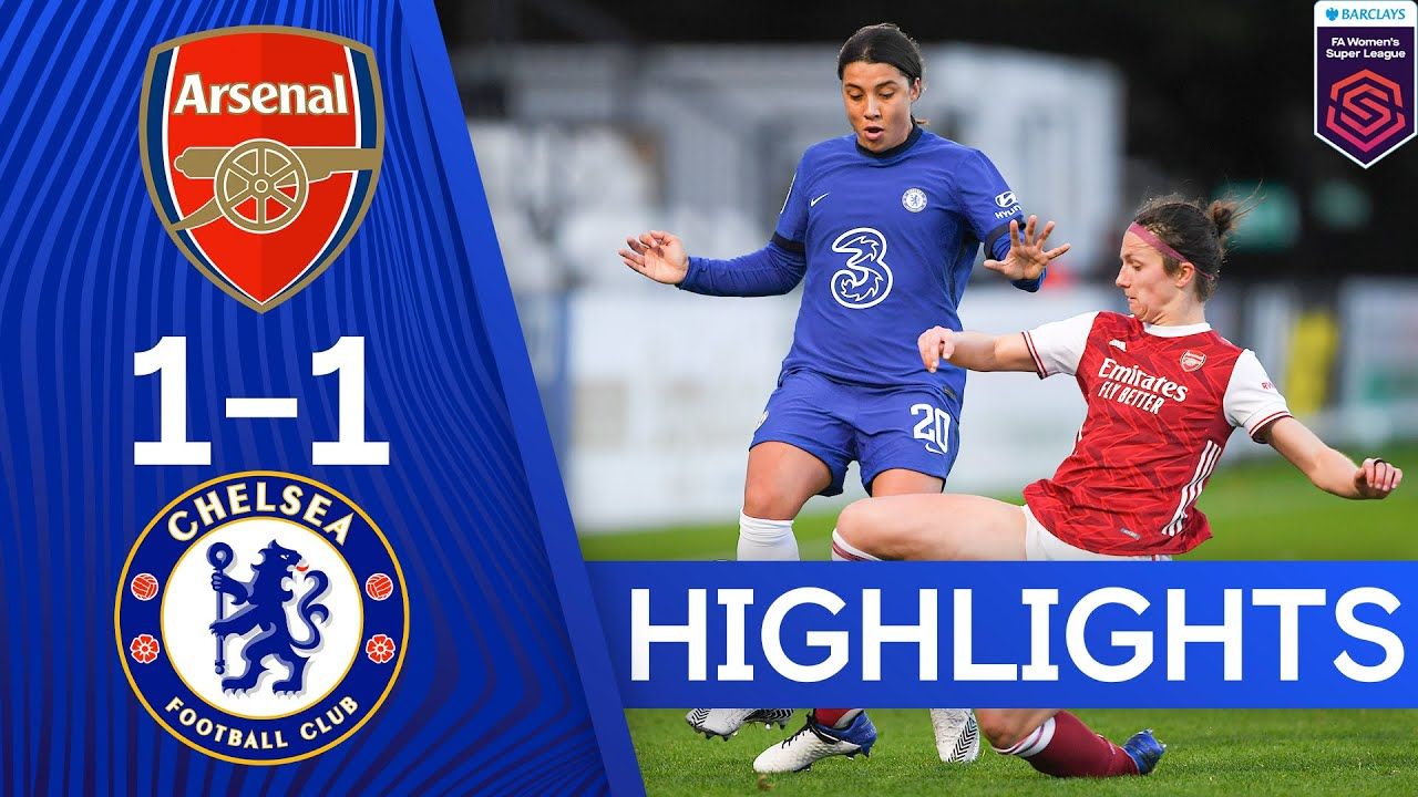 Arsenal 1-1 Chelsea | Women's Super League Highlights