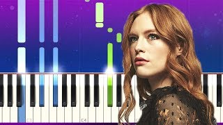 Freya Ridings - Castles (Piano tutorial)