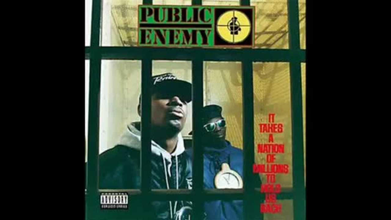 Public Enemy - Rebel without a pause (Lyrics)