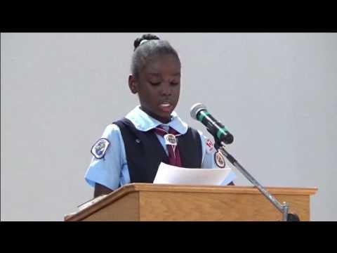 Fille de 10ans prêchant la Parole de Dieu