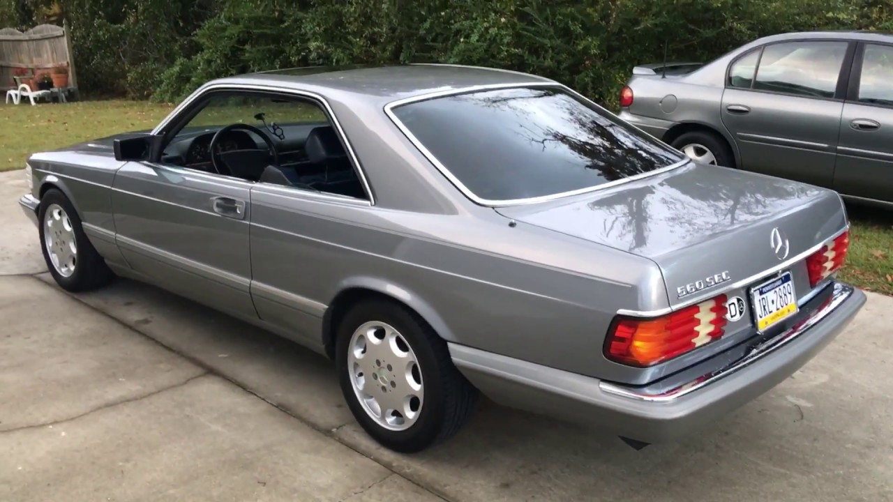 Tour of my mercedes 560sec w126 benz beauty youtube for Buy my mercedes benz