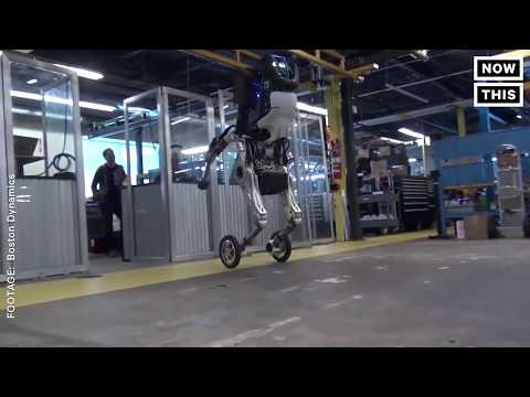 Boston Dynamic's Newest Robot Is Like A Horse On Roller Skates
