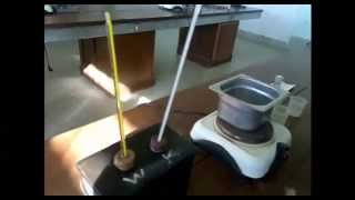 Determination of the Specific Heat of a Liquid