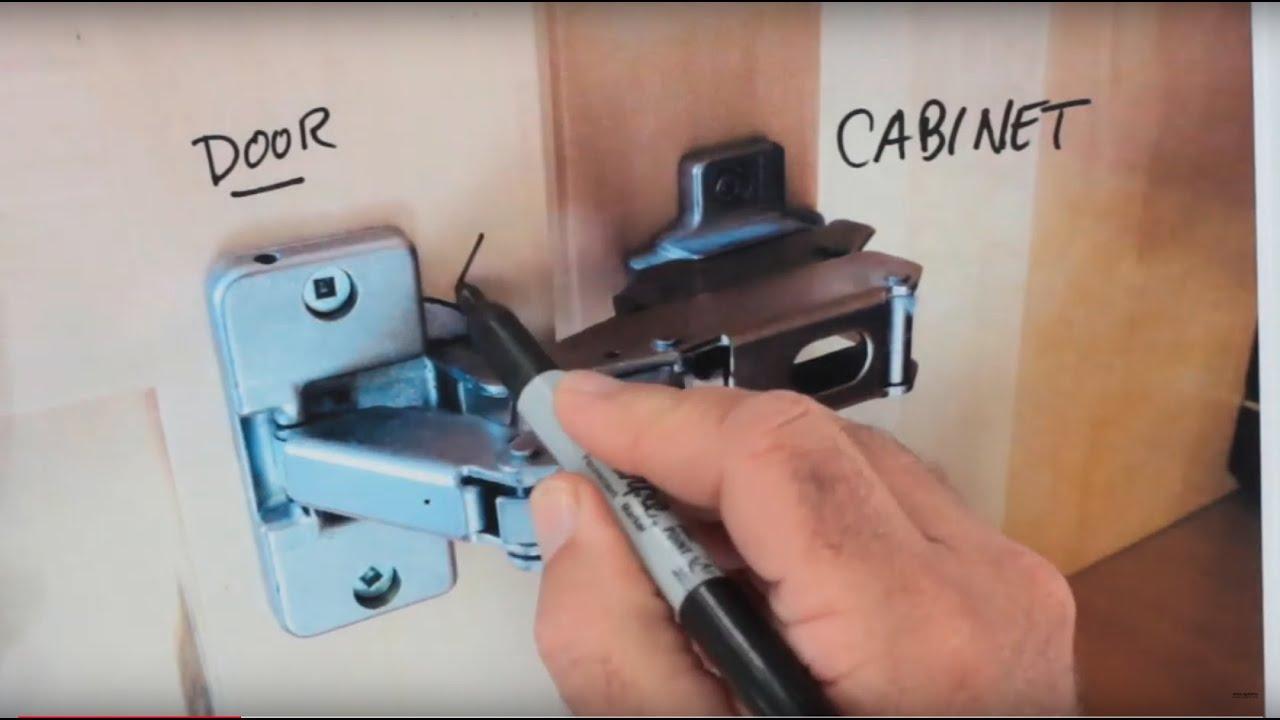 Kitchen Hinge Basic Fix   YouTube