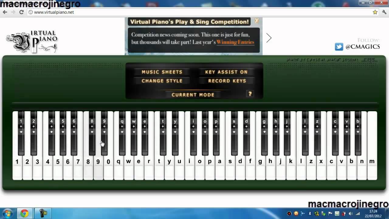 piano pc descargar