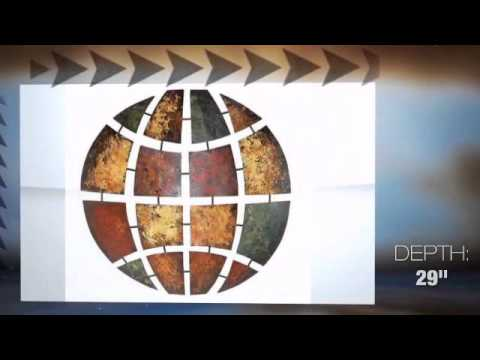 Circular Illusion Handcrafted Metal Wall Sculpture