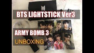 Video KPOP Lightstick BTS Official Lightstick Ver3 Army Bomb 3 unboxing download MP3, 3GP, MP4, WEBM, AVI, FLV Agustus 2018