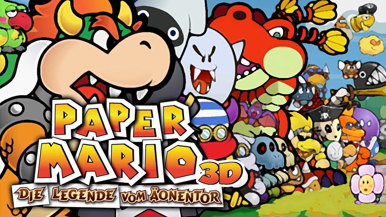 Paper Mario Die Legende Vom