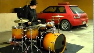 Sinitaivas - iltatuuli (drum cover)
