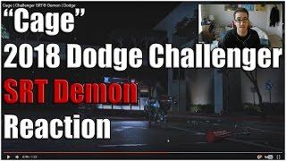 2018 dodge challenger srt demon cage teaser reaction/analysis!