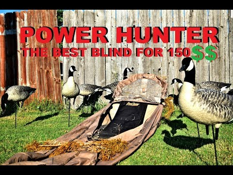 duck pinit hunter blinds power layout field blind avery