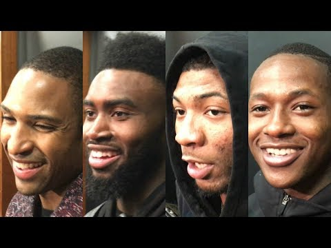 Celtics' players react to one-point win over Raptors | ESPN