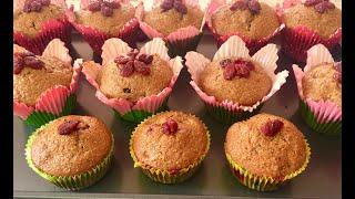 Bánh Muffin Trái Cây-Công Thức Pha Bột Làm Bánh Muffin Ngon Nhanh Nguyên Liệu Dễ Tìm Nhất - Muffin
