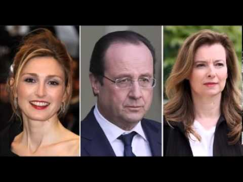 Hollande Visits Partner In The Hospital
