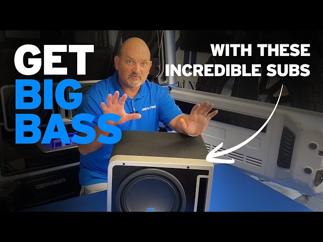 Alpine | Brand Specialist Spotlight | Halo Subwoofer Enclosures