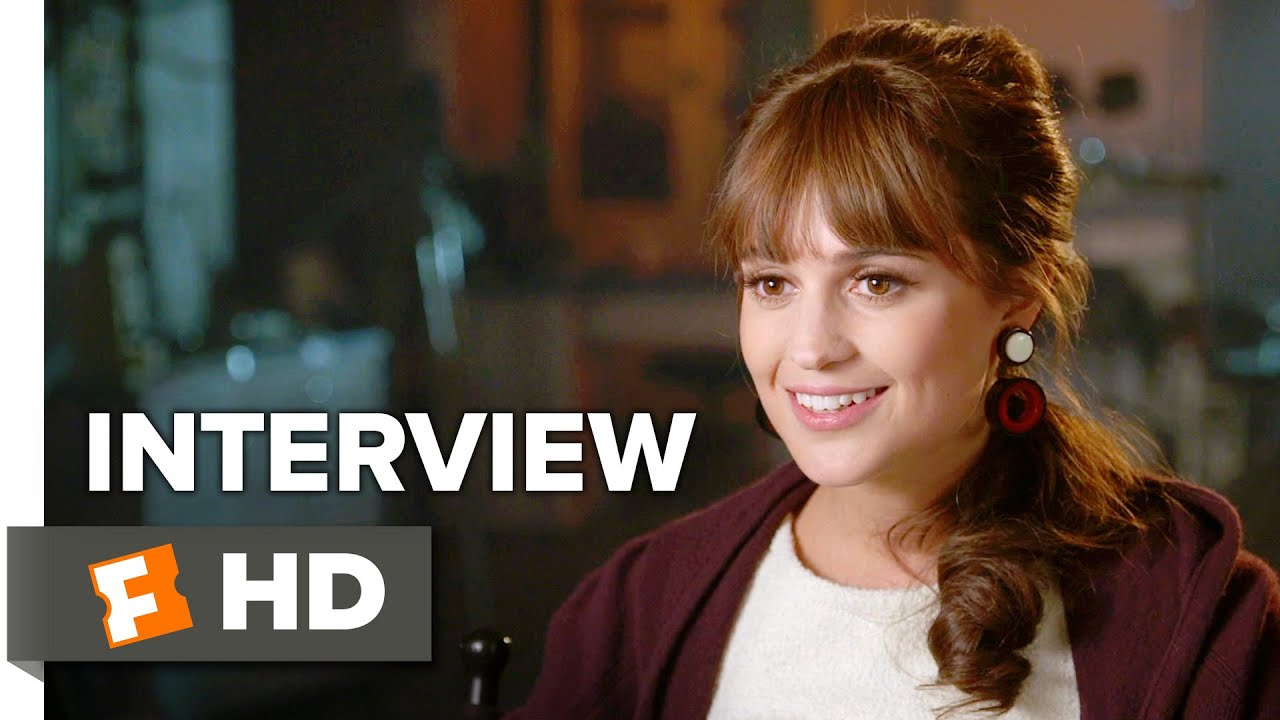 The Man From U N C L E Interview Alicia Vikander 2015 Action Movie Hd Youtube