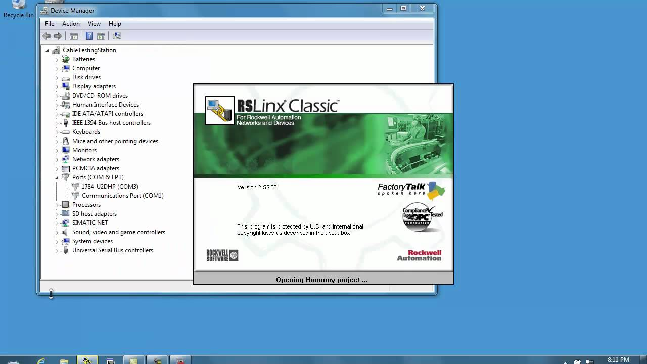 Rslinx classic software, version 2. 53 and later | rockwell.