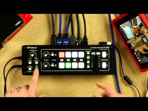 Roland V-1HD Video Switcher: In Depth