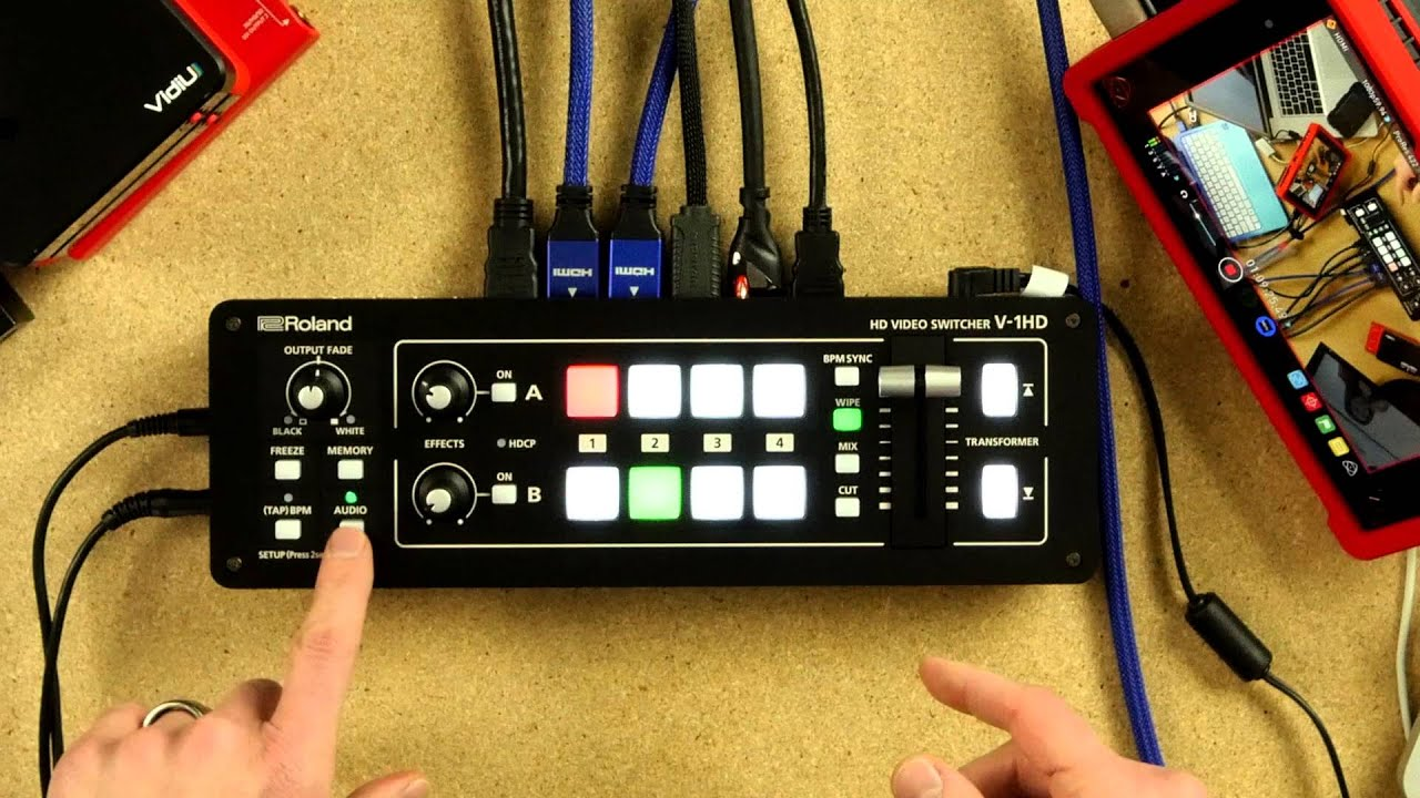 Roland v 1hd video switcher in depth youtube asfbconference2016 Choice Image