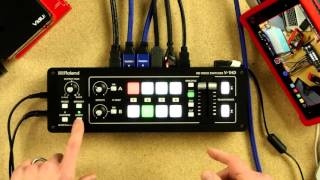 Roland V-1HD Video Switcher: In Depth