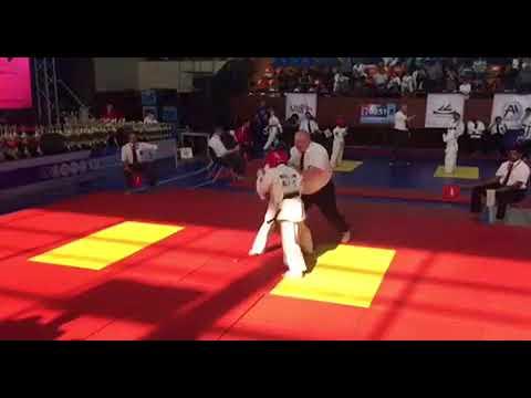 Чемпионат Европы, Ереван-2018, эпичный бой Алишера за выход в полуфинал