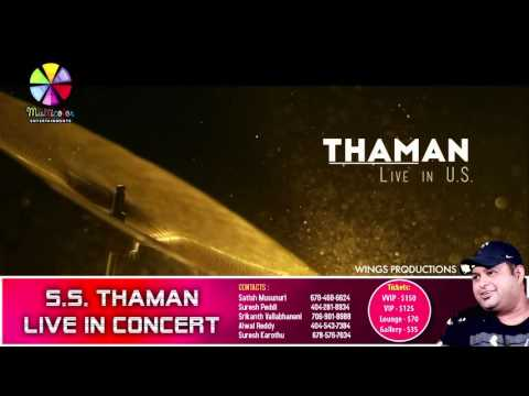 MultiColor Presents - S.S Thaman Live in Concert