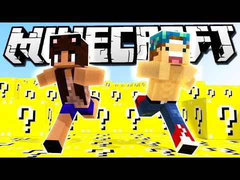LUCKY BLOCK MAYHEM! | Minecraft Lucky Block Race w/Yammy