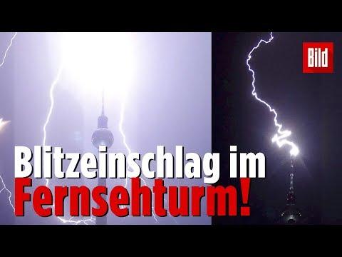 Krasse Unwetter-Bilder aus Berlin