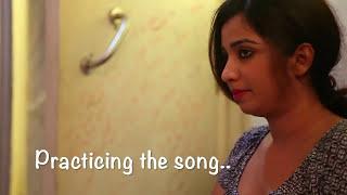 Recording session with Sonu Nigam, Shreya Ghoshal