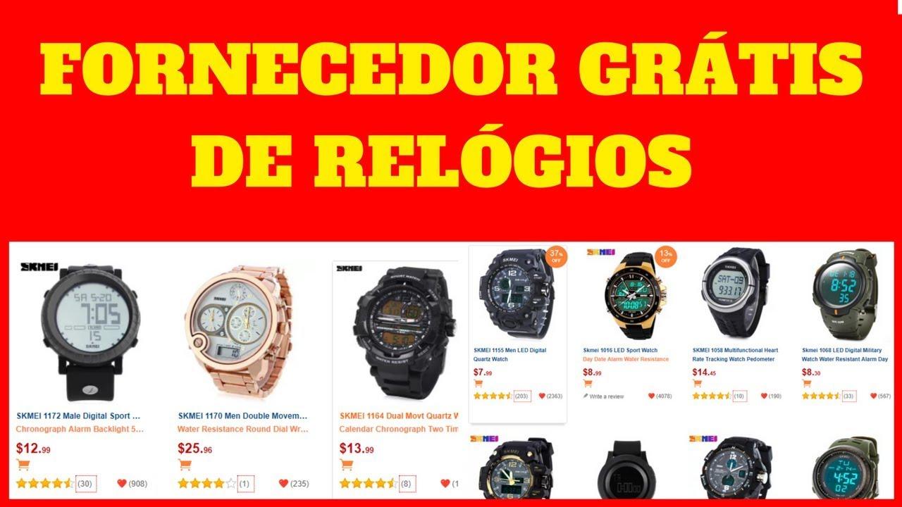 c933fc877a9 Fornecedor de Relogios Para Revenda - LUCRO Certo Com Relógios Importados!