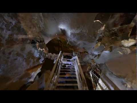 Fly-through of Historic Carlsbad Caverns Stairs