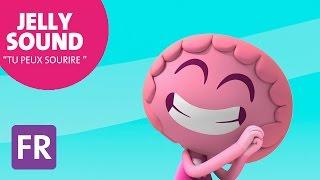 """Jelly Jamm """"Tu Peux Sourire"""" - Chanson pour enfants avec paroles en français HD"""