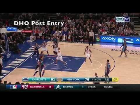 Charlotte Hornets - Offensive Actions