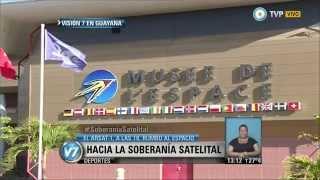 Visión 7 - Lanzamiento del satélite ARSAT-1, en vivo por la TV Pública (2 de 3)