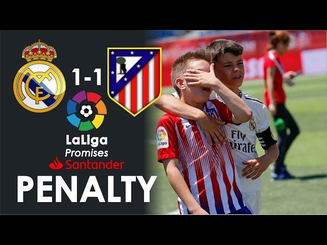 Penalty de Real Madrid vs Atletico Madrid LaLiga Promises