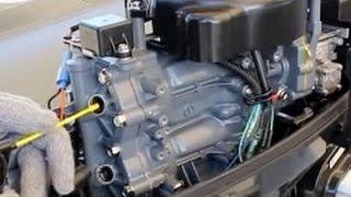 Консервація 4-х Тактного Човнового Мотора